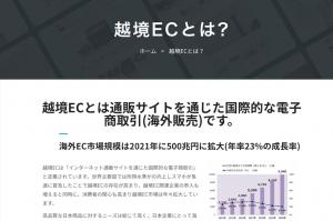 越境ECとは? 所得向上とスマホで急拡大